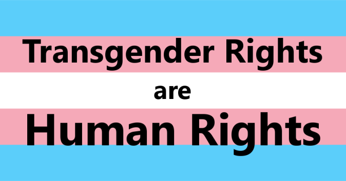 trans rights FB image