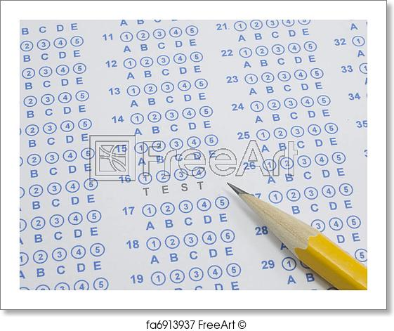 test-on-scantron