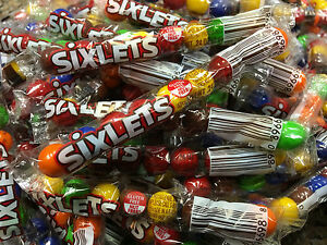 Sixlets candy.