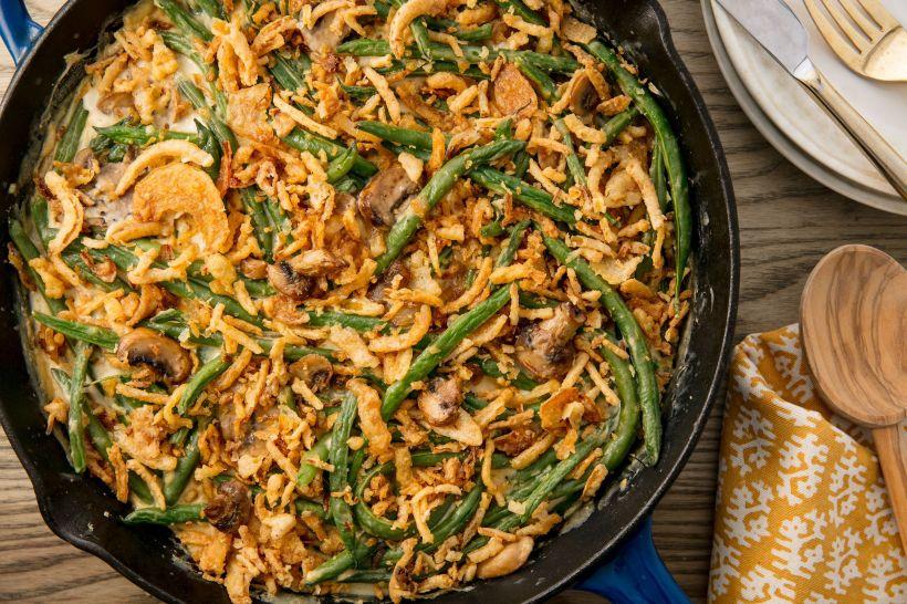 Green Bean casserole Thanksgiving dinner sides Top Ten Thanksgiving Side Dishes