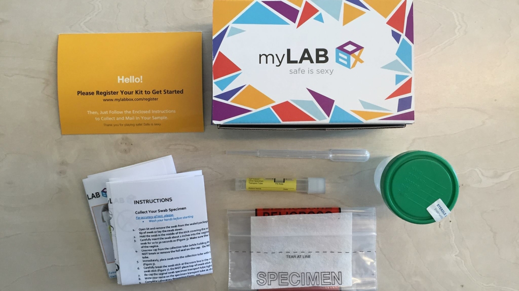 My Labor At Home HIV Test Kit