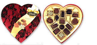 Russell Stover Heart Shaped Box of Chocolate