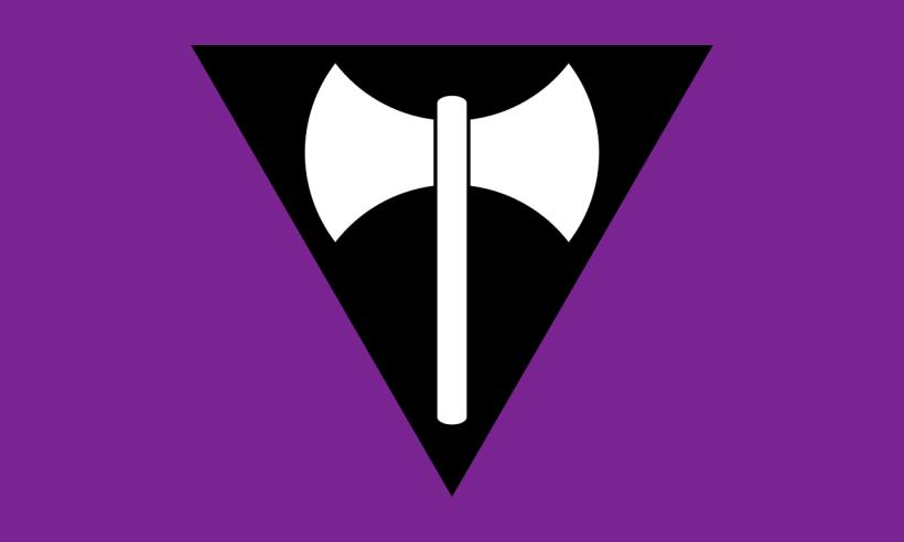 Lesbian Labrys Symbols
